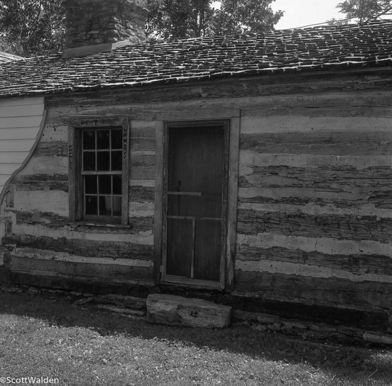 Jesse James Home Original Log Cabin