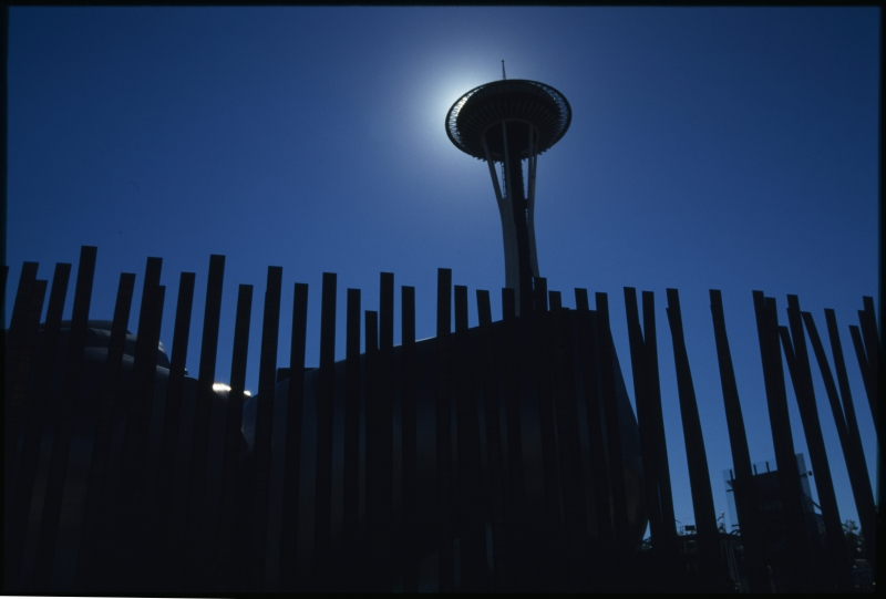 Space Needle At High Noon