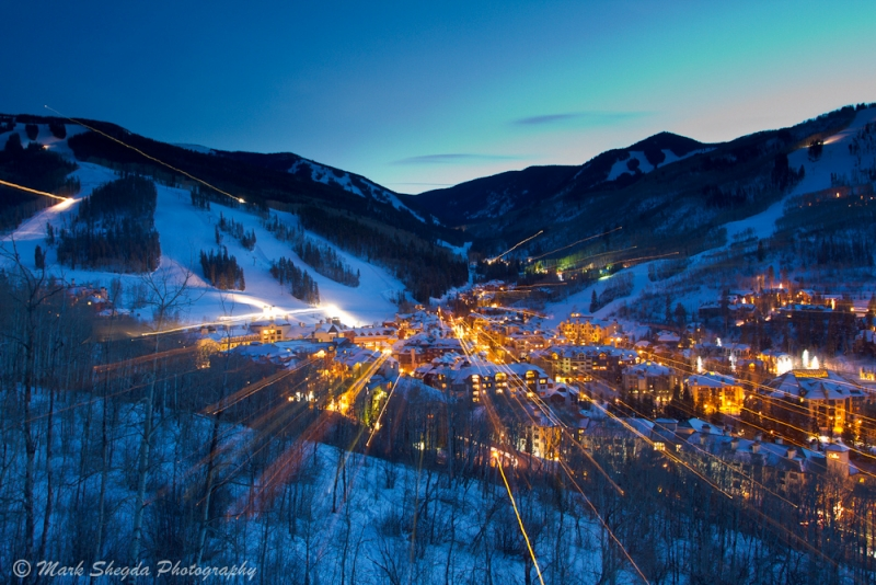 Beaver Creek Village At Twilight