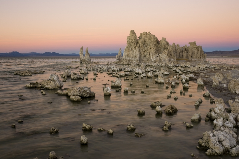 Mono Lake Tufa At Dusk
