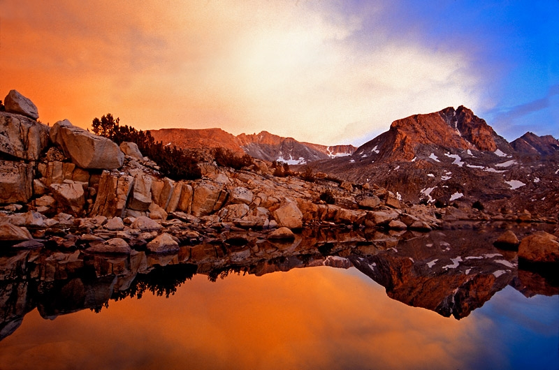 High Glacial Lake – Eastern Sierras