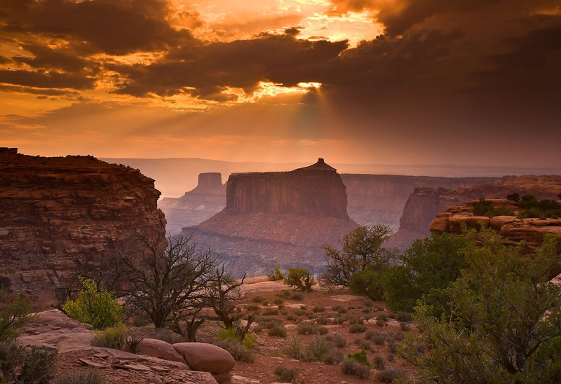 Canyonland Sundown