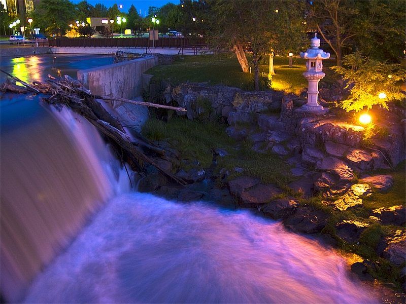 Evening By The Falls