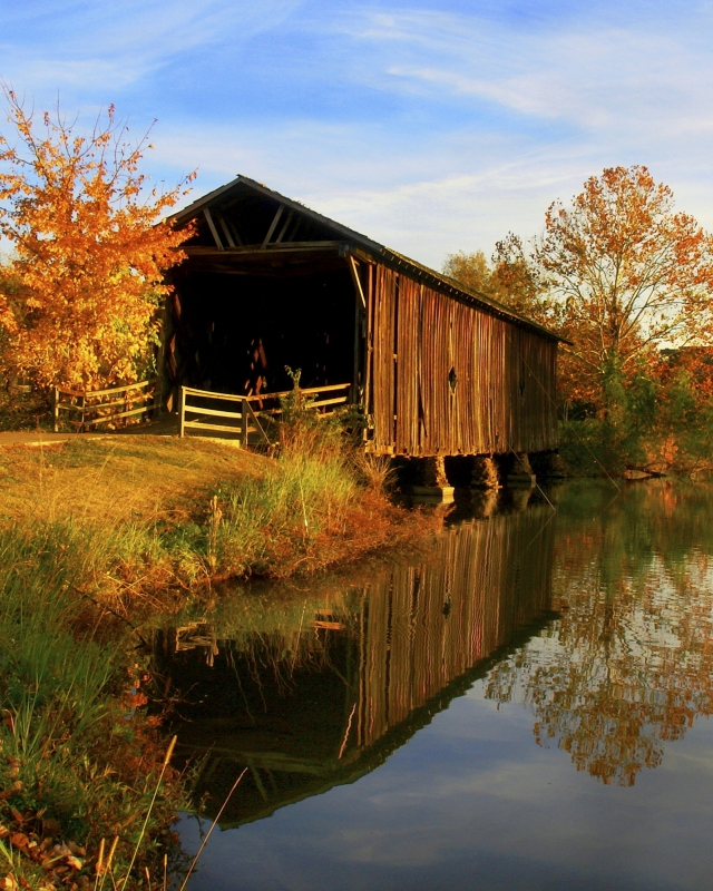Alamucha Creek Covered Bridge