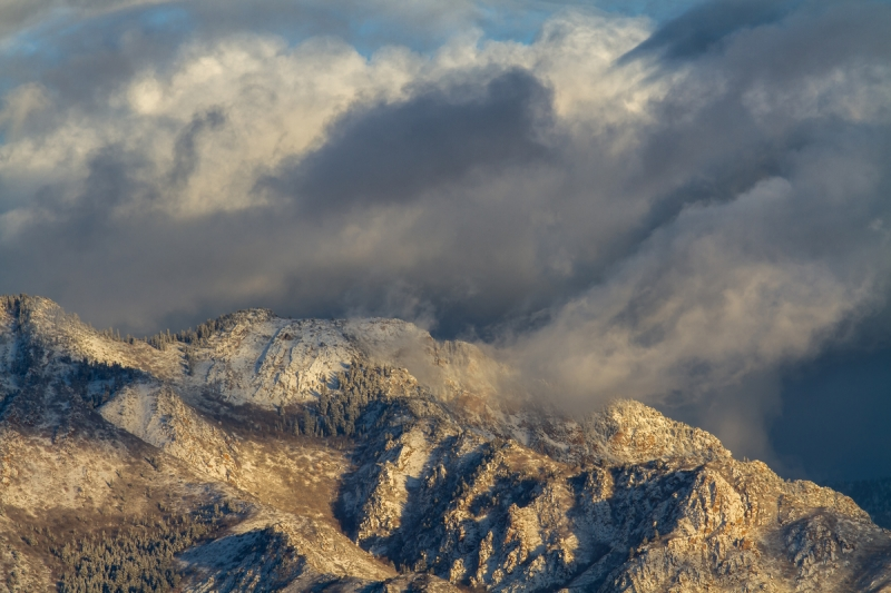 Winter Wasatch Mountains