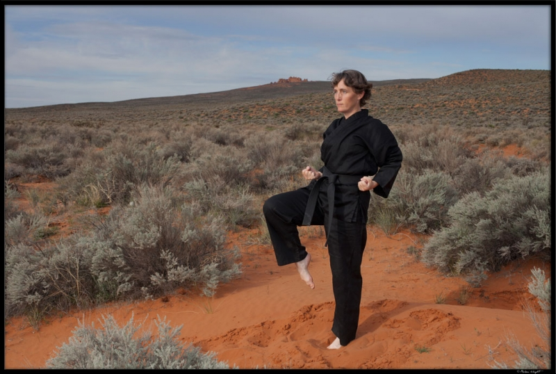 Black Belt In Red Sand