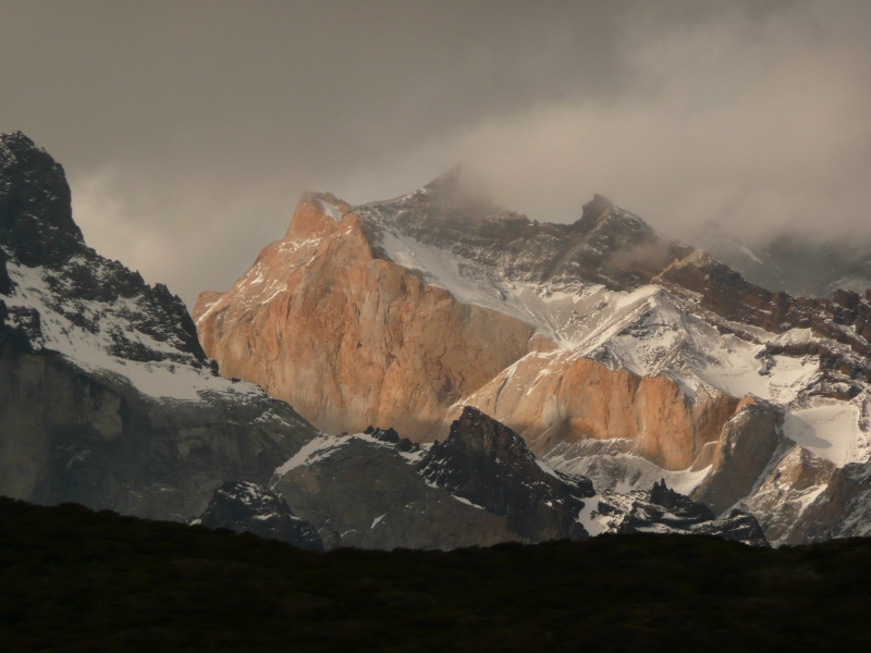 Clouds Over The Cuernos