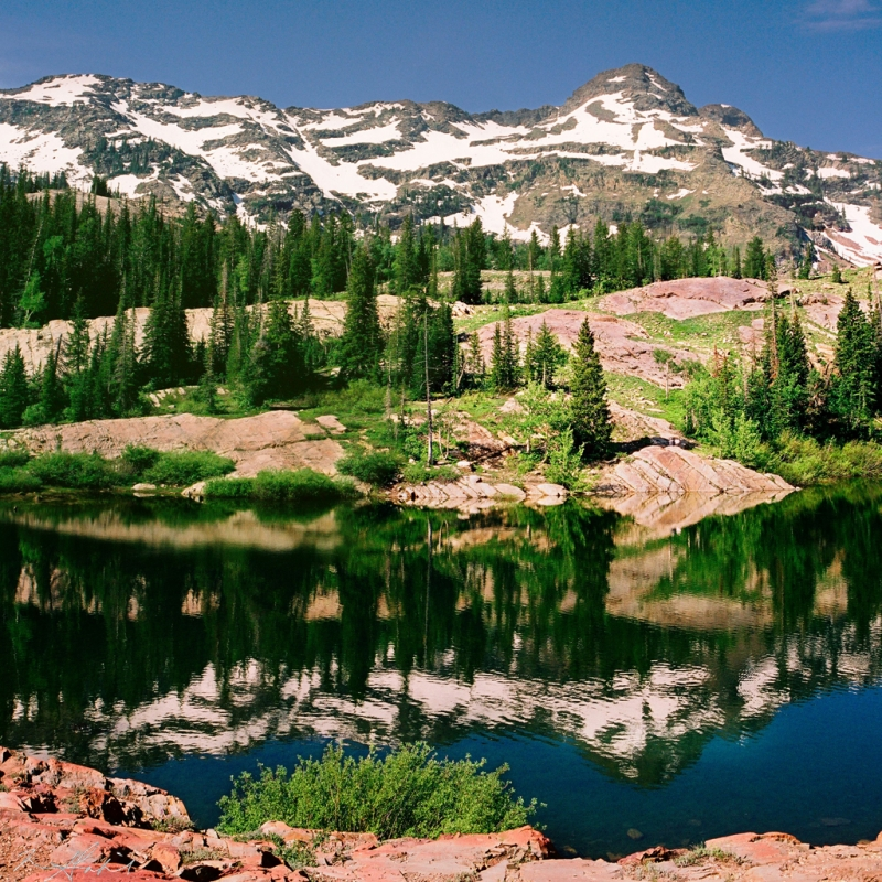 Lake Blanche Reflection