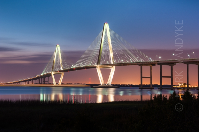 Charleston Arthur Ravenel Jr. Cooper River Bridge