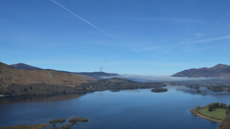 Cloud Inversion Landscape In The Lake District
