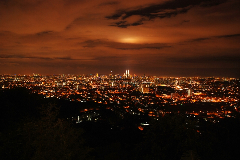 Kl City Nightview