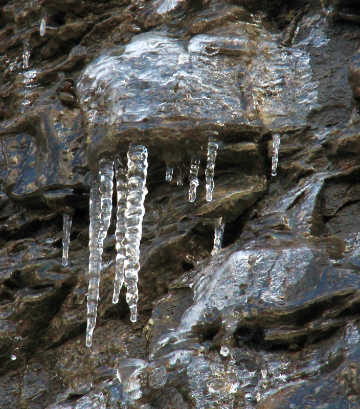 Icicles Up Close