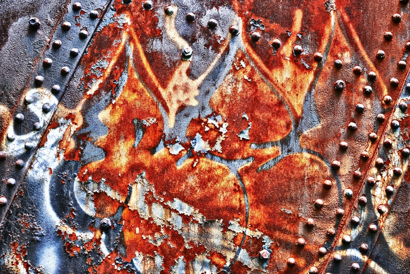 Age Is Showing, Rust On A Bascule Bridge Over Buffalo River