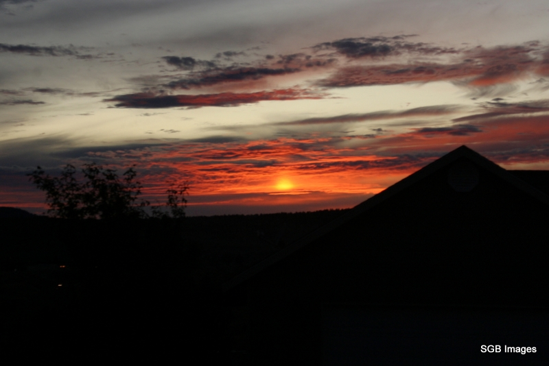 Mount Mcloughlin Sunset