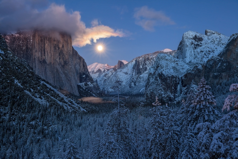 Moonrise Tunnel View