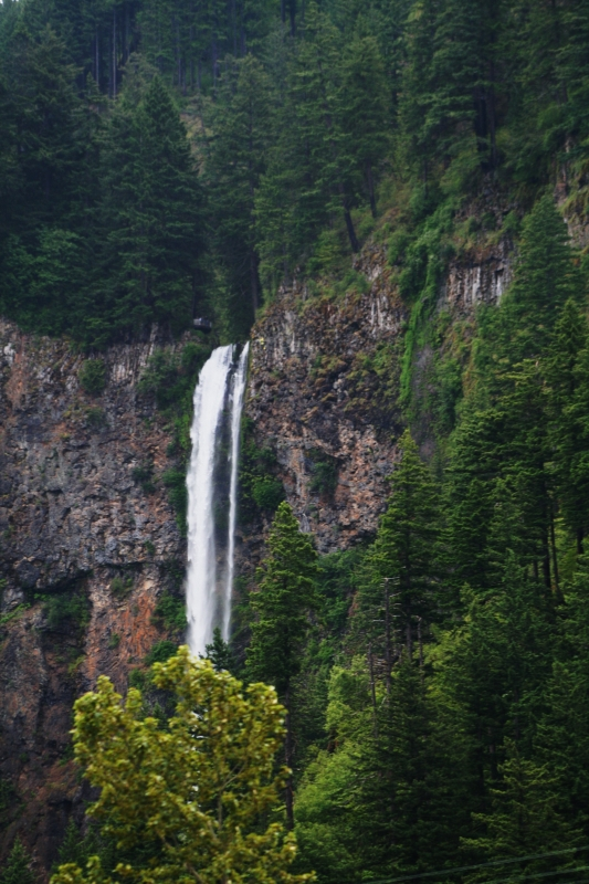 Falls In The Gorge