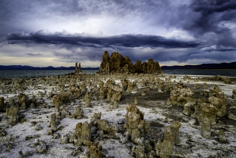 Late Autumn Storm, Mono Lake