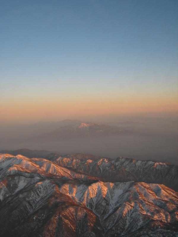 Dusk Over The Sierra Nevadas