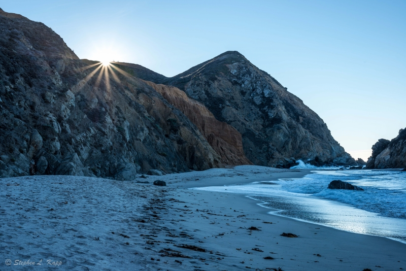 Pfeiffer Beach At Sunrise