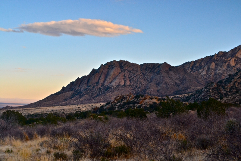 Sunset Sky Over The Organ Mountains