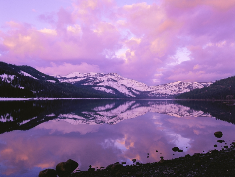 Donner Lake Sunrise