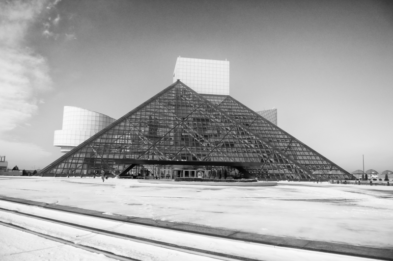 Rock Hall In Winter
