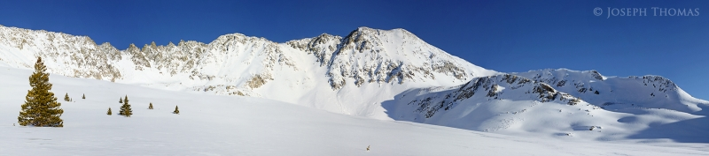 Ten Mile Range Winter Panorama