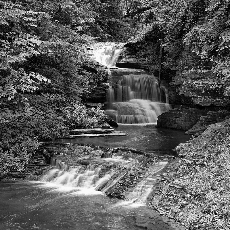 The Falls On Fish Kill Creek