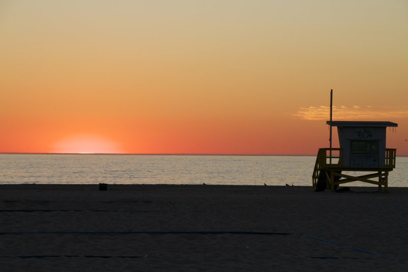 Hermosa Beach Sunset