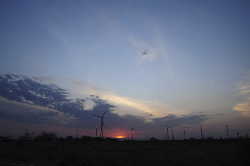 Windmills @ Sunset