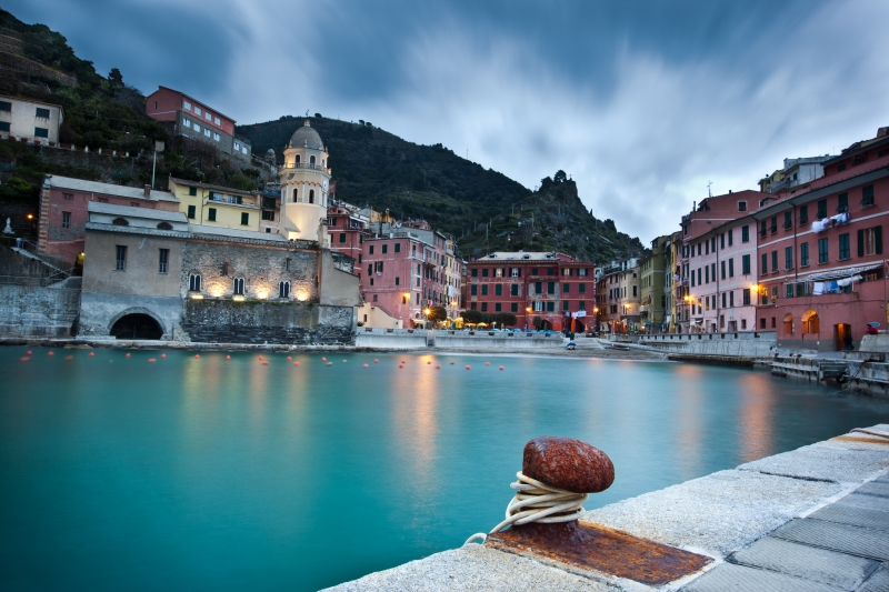 Vernazza From The Dock