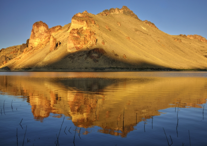 Owyhee Lake Reflections