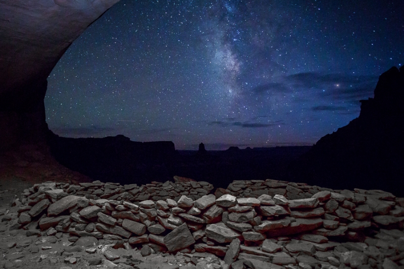 Milky Way In False Kiva