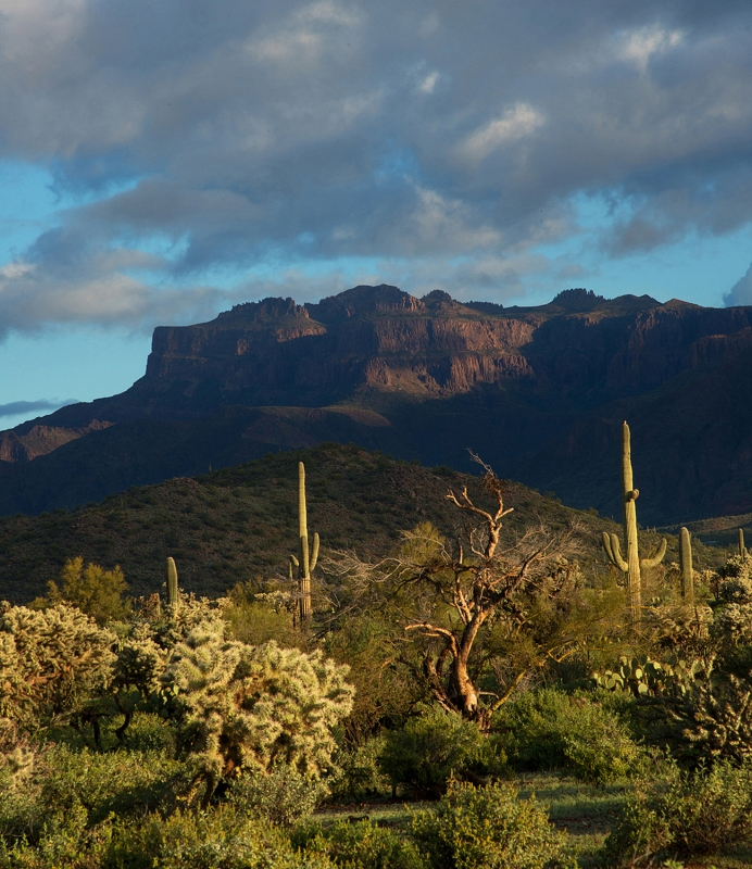 Superstition Mountain.