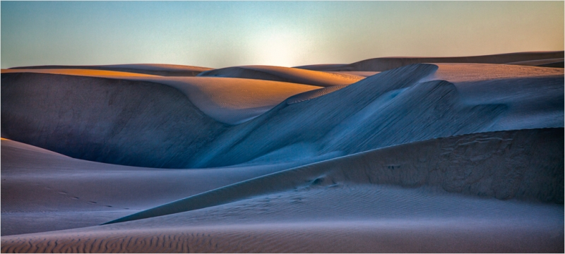 Evening Light On The Dunes