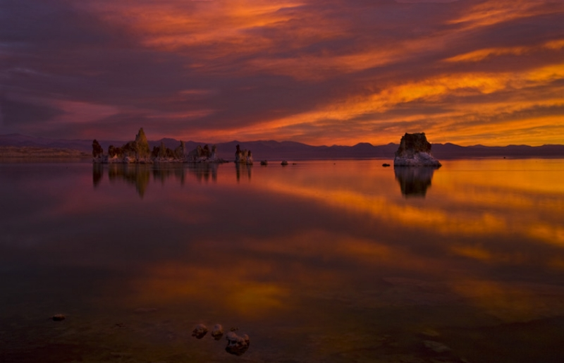 Glorious Dawn At Mono Lake