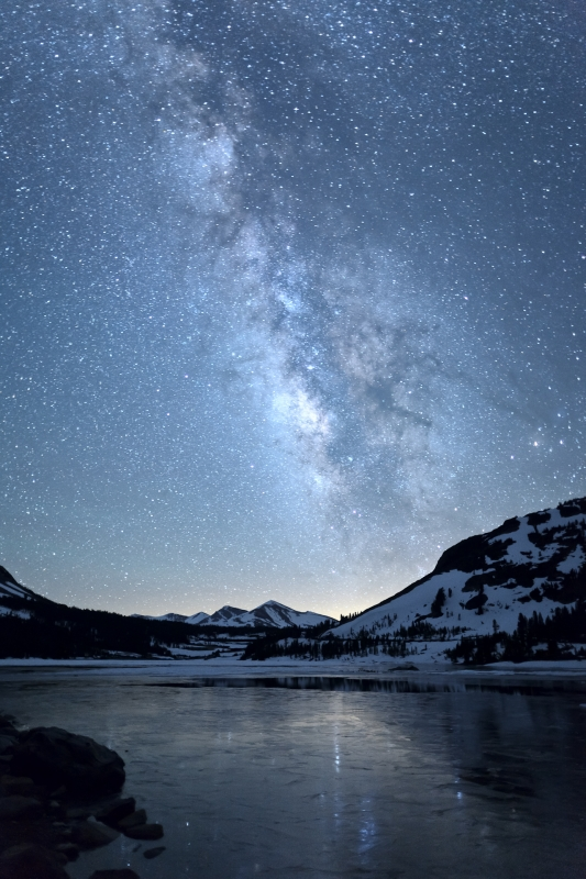 Milky Way Reflection – Tioga Lake