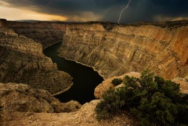 Devil's Canyon Overlook, Bighorn Canyon