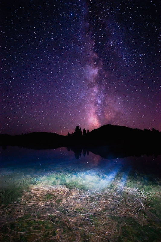 Snake River And The Milky Way