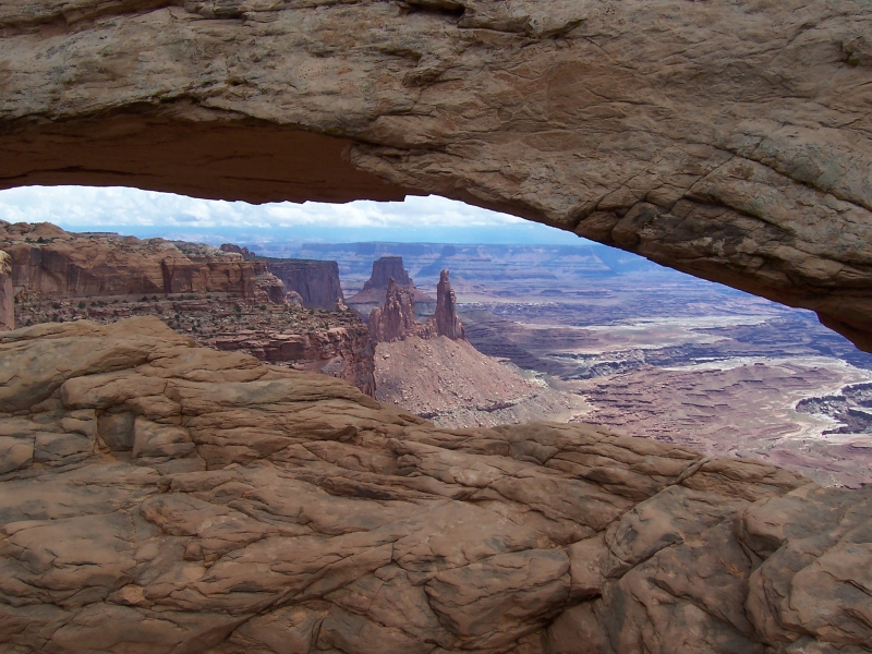 Through Mesa Arch