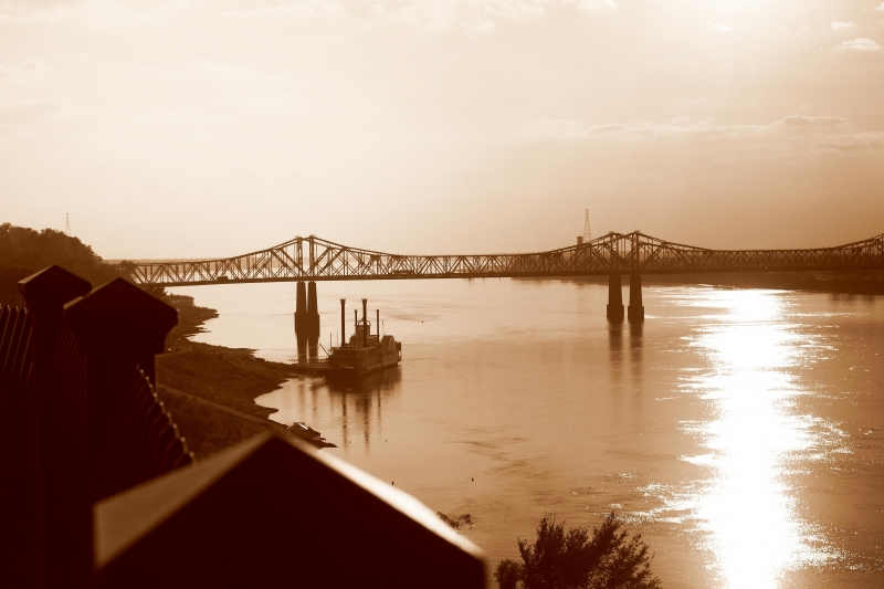 Late Afternoon On The Mississippi