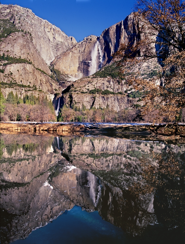 Yosemite Falls Merced Reflection