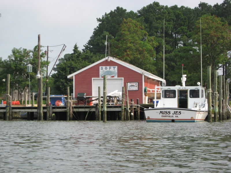 Crab Shack On Creek, Eastern Shores Virginia