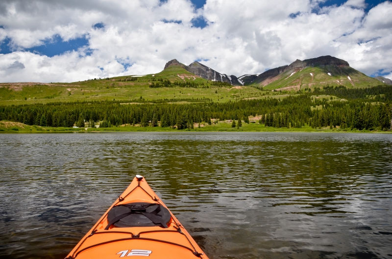Kayaking In Colorado