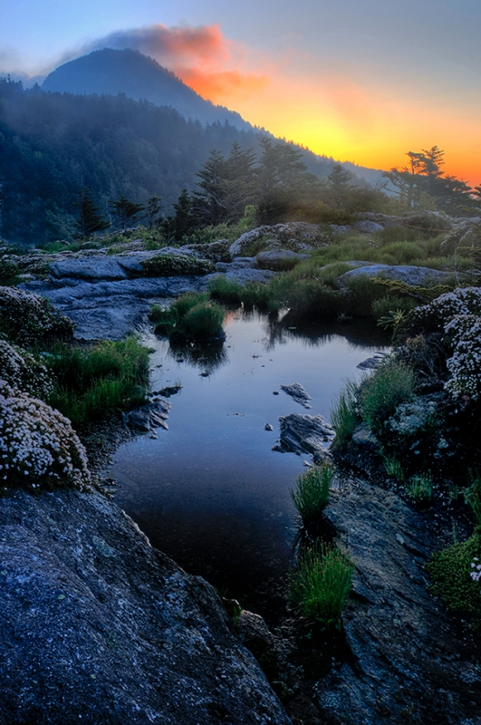 Sunrise Pool Grandfather Mountain