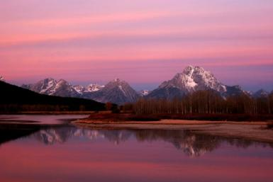 Grand Teton National Park; Oxbow Bend