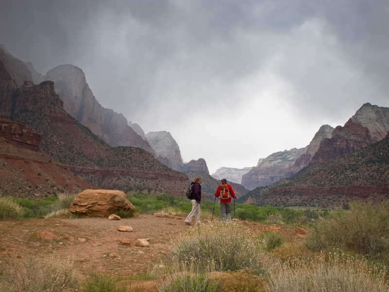 Storm Over Zion