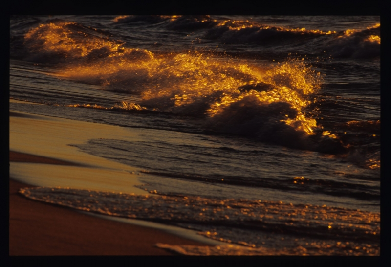 Waves Aglow
