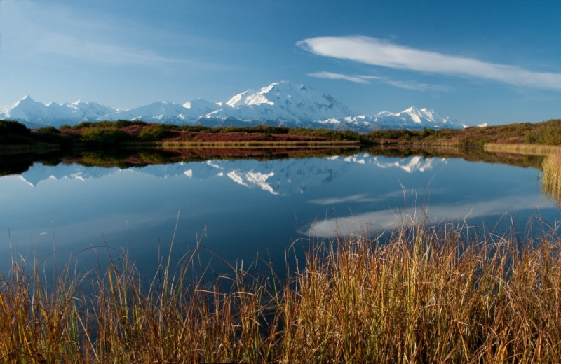 Mt. Mckinley From Reflection Pond