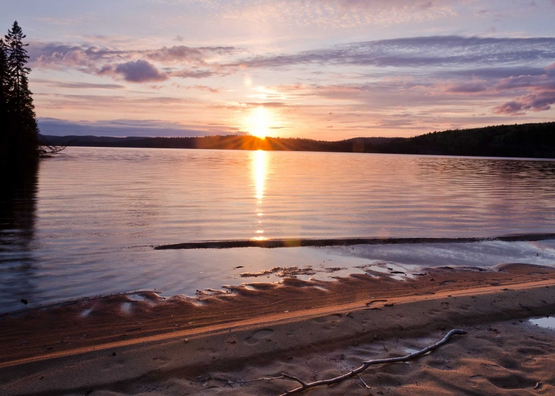 Sunset – Lake Of Two Rivers (algonquin Park)
